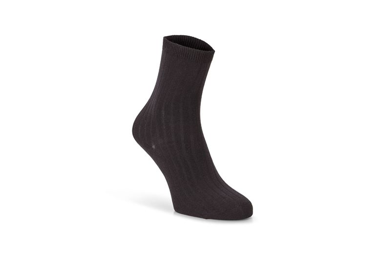 Ribbed Socks (Black)