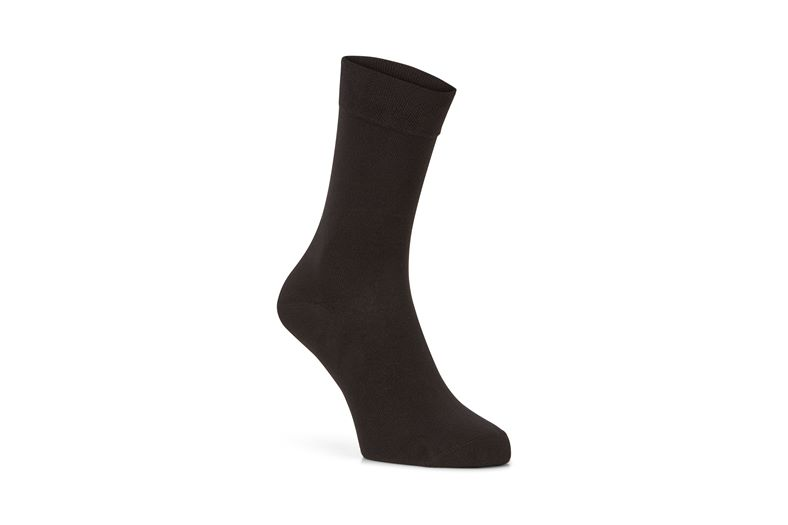 Cotton Crew Sock (Black)