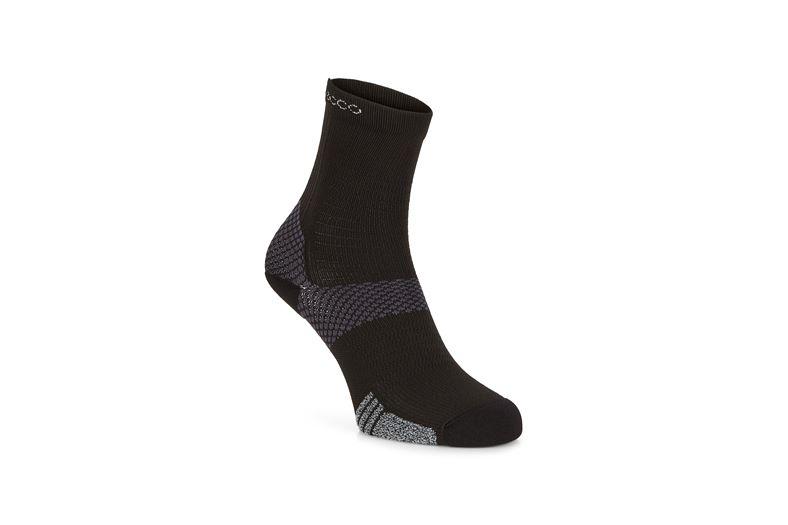 Tour Lite crew sock (أسود)