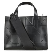 Geometrik Mini Handbag (Black)
