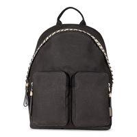 Siv Backpack (أسود)