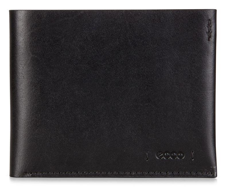 Lars Billfold Coin Wallet (Fekete)