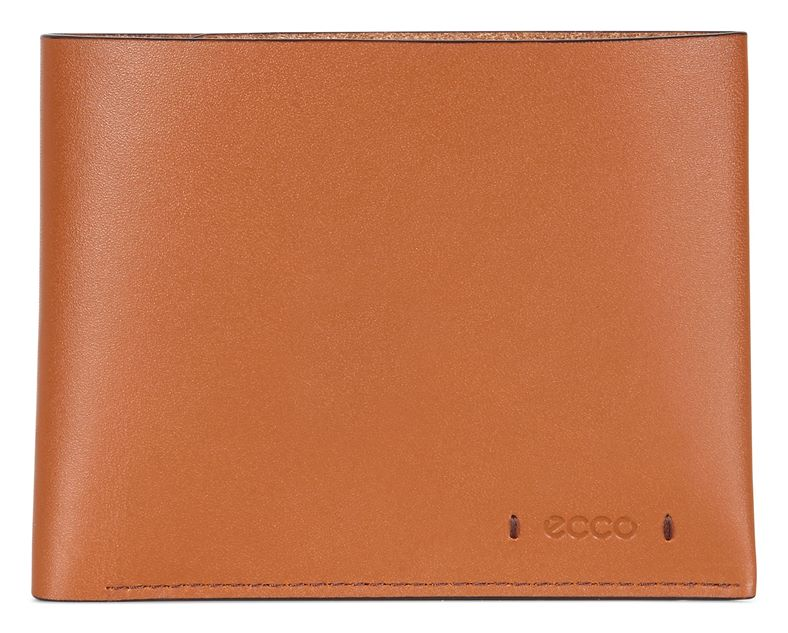 Lars Billfold Coin Wallet (Marrone)