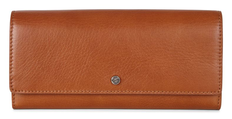 Sculptured Cont. Wallet (Brown)