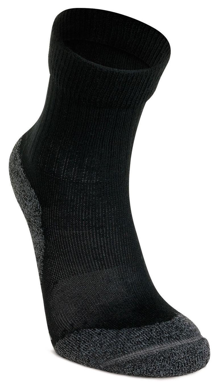 Kids Trekking Sock (أسود)