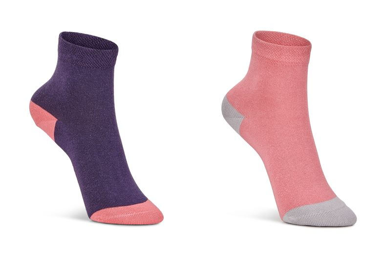 Soft Touch Kids Sock (2 P (أحمر)