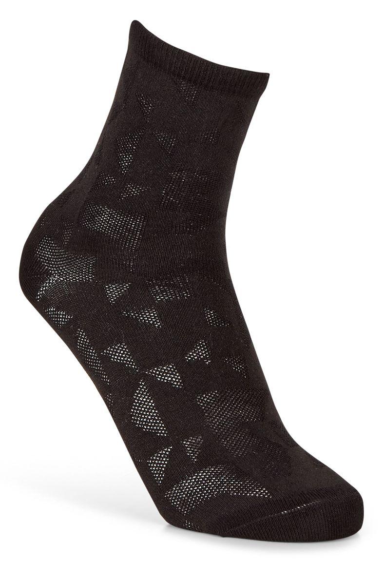 Geometrik Socks (Black)