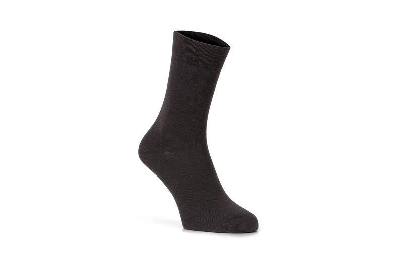 Cotton Crew Sock (رمادي)