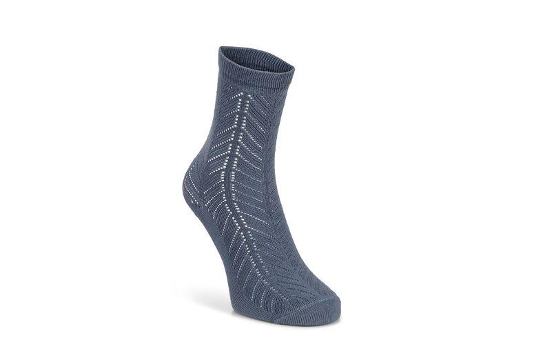 Herringbone Socks Women's (أزرق)