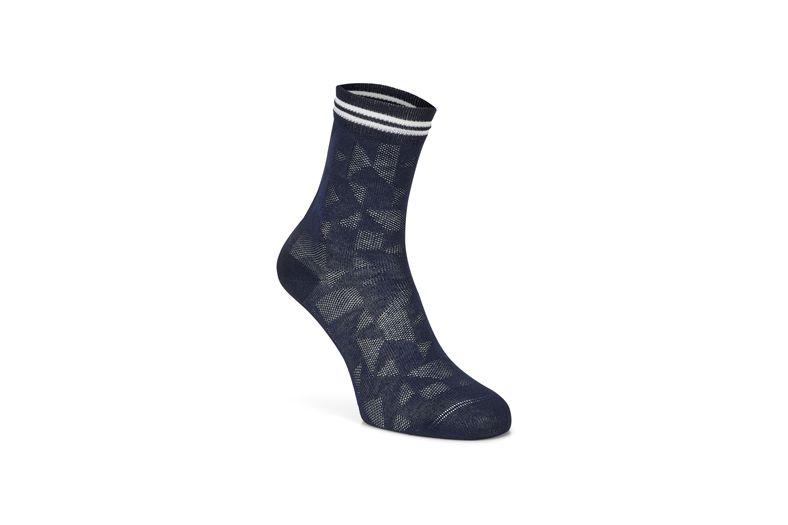 Reflective Geometrik Sock