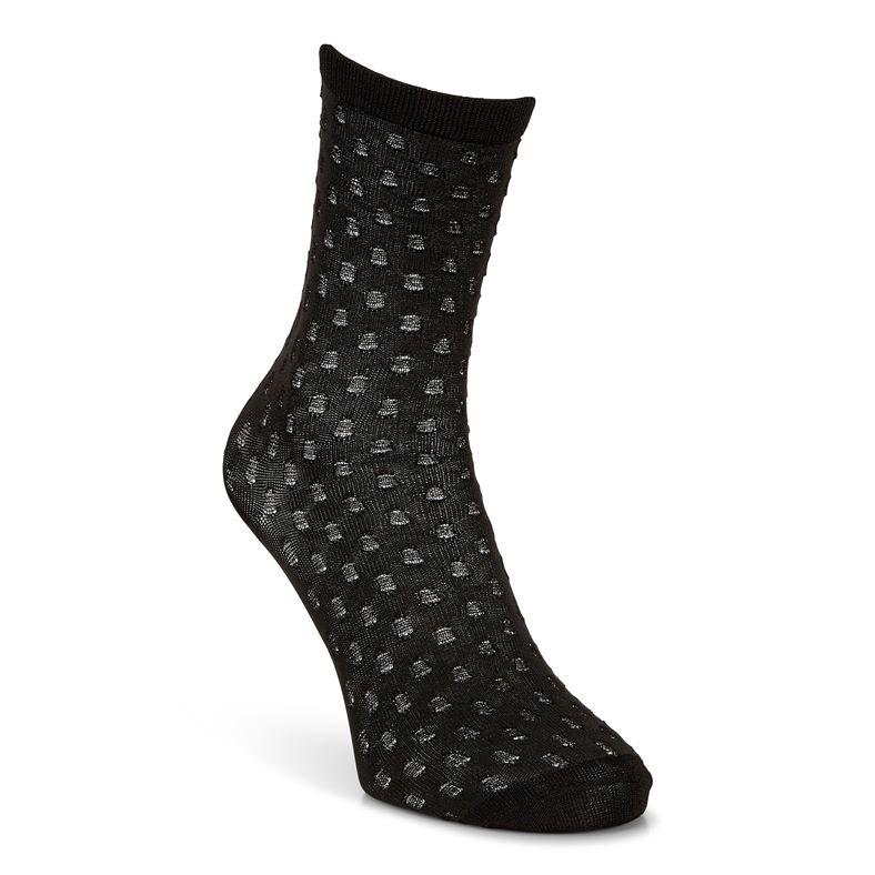Dotted Socks Women's (Black)