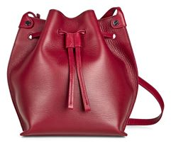 Sculptured Bucket Bag