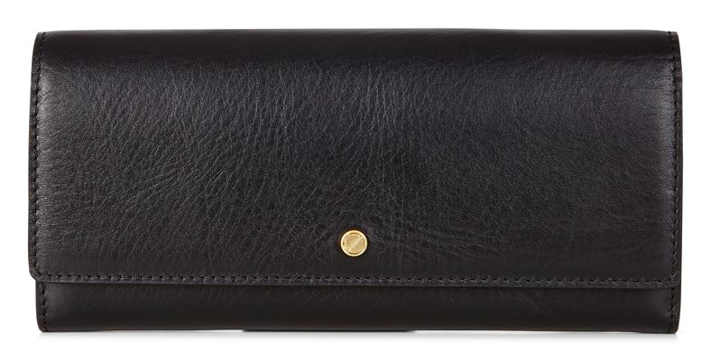 Sculptured Cont. Wallet (Negro)