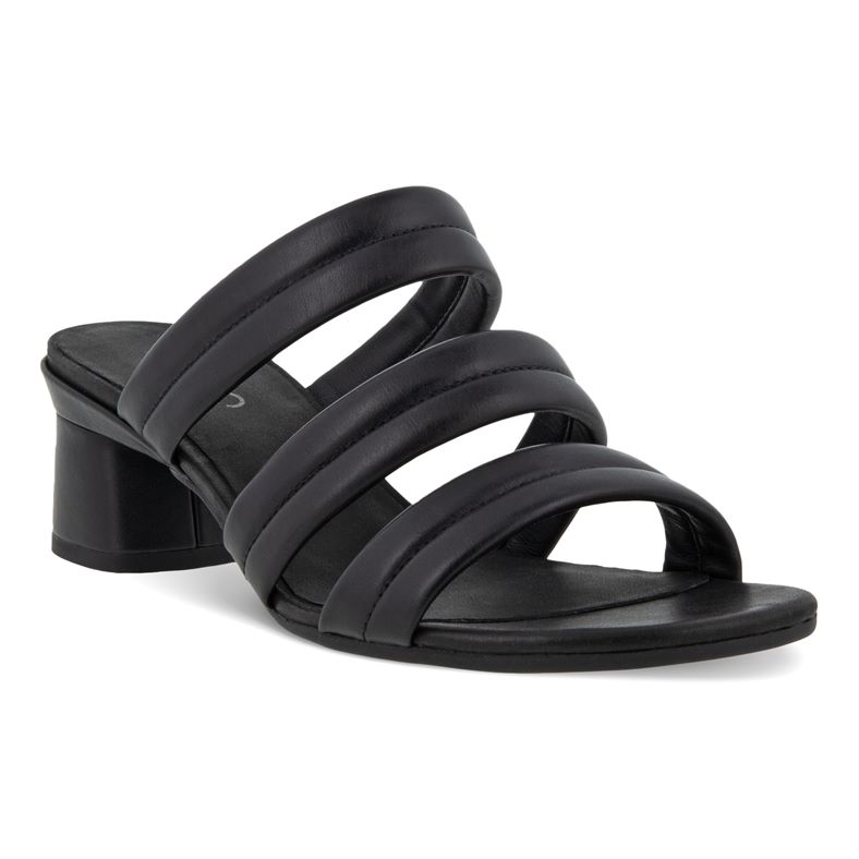 ELEVATE 45 BLOCK SANDAL (أسود)