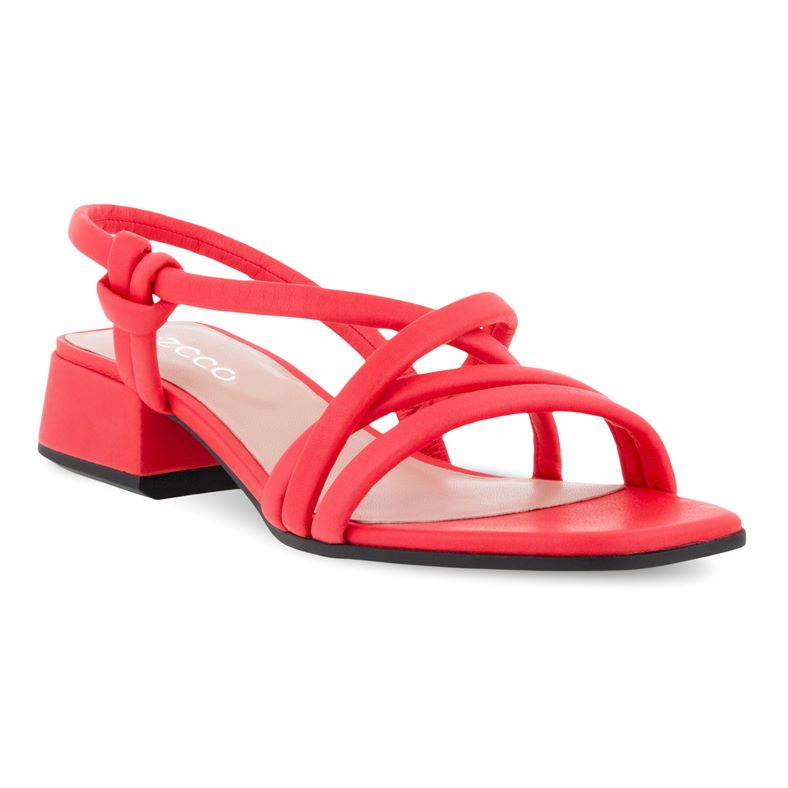 ELEVATE SQUARED SANDAL (Red)