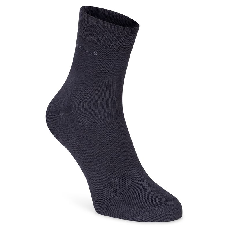 Soft Touch Crew Sock (Black)