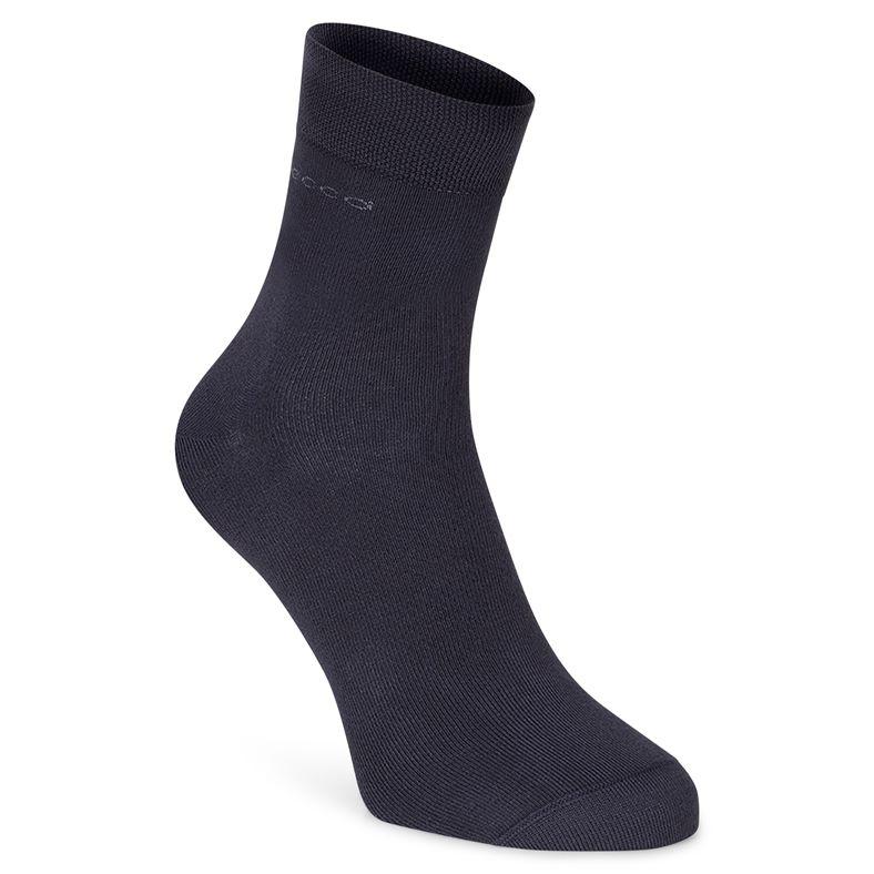 Soft Touch Crew Sock (Nero)