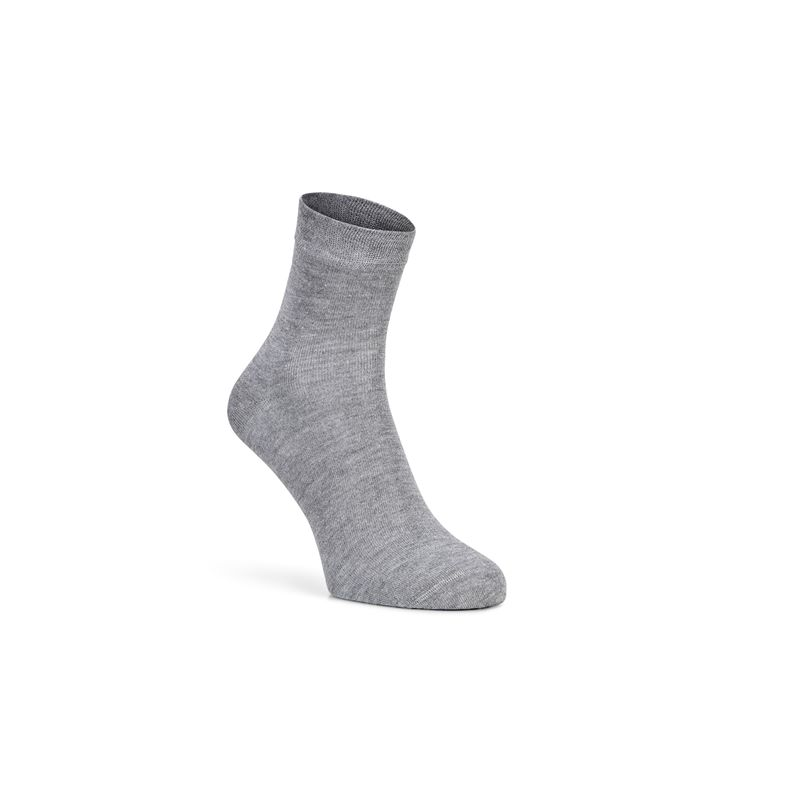 Soft Touch Quarter Sock (Gris)