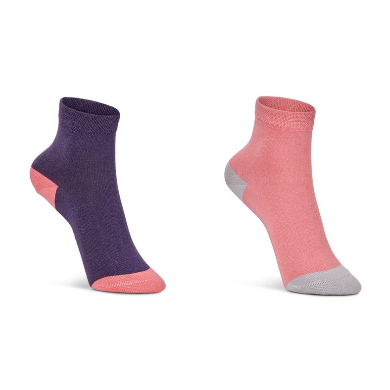 Soft Touch Kids Sock (2 P (Red)