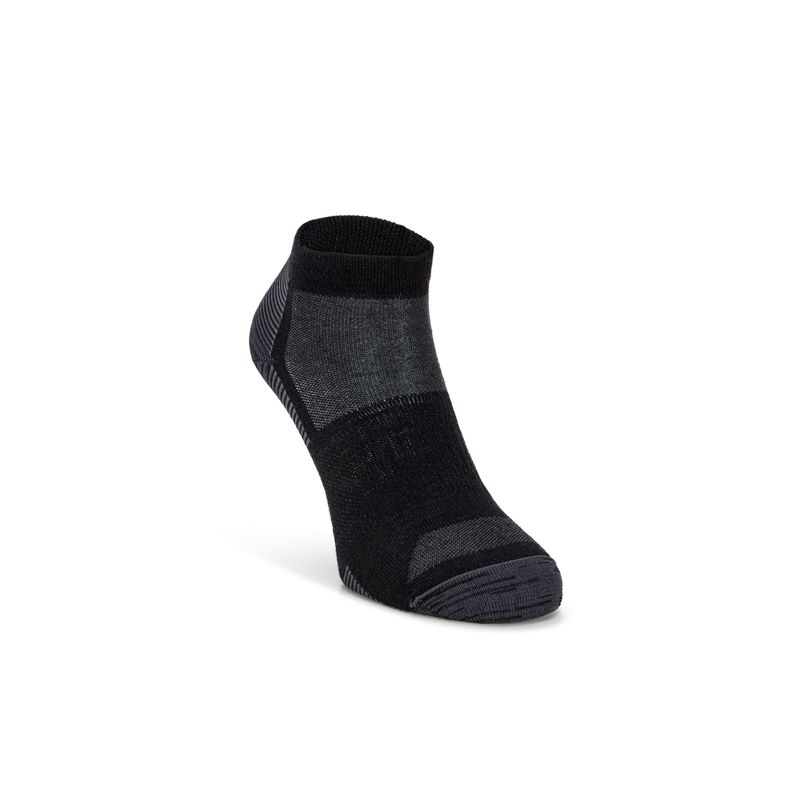 Everyday Quarter Sock (Negro)