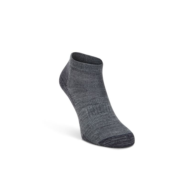 Everyday Quarter Sock (رمادي)