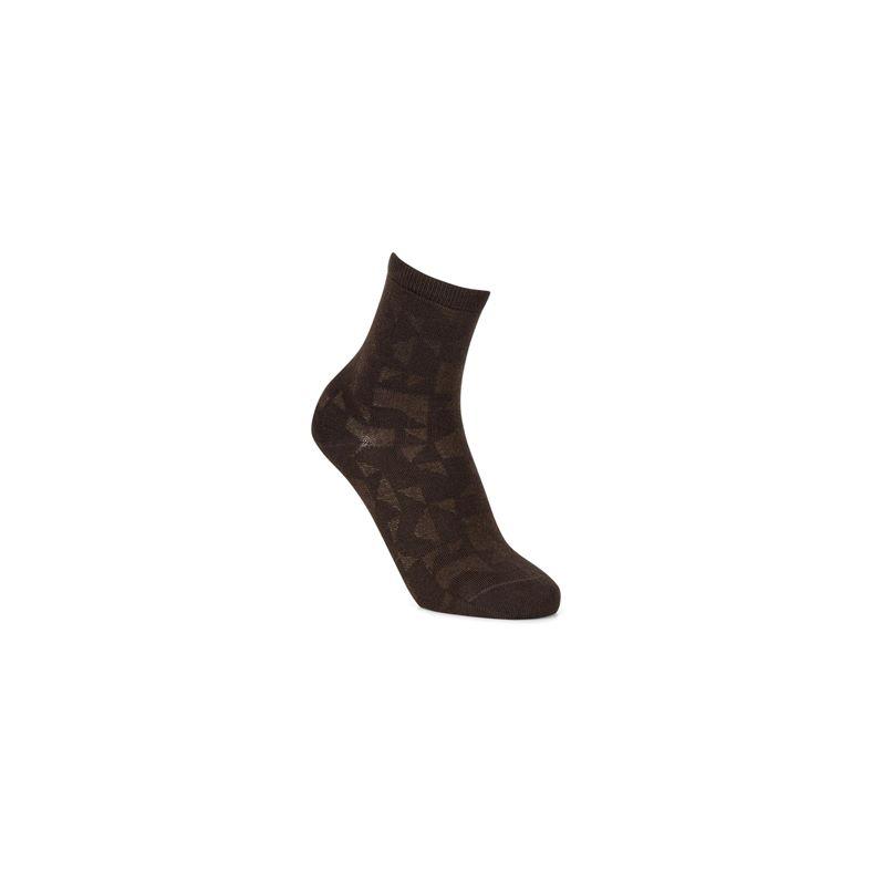 Geometrik Socks (رمادي)