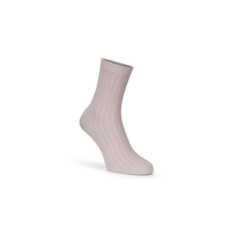 Ribbed Socks (أحمر)