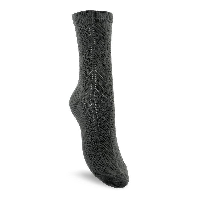 Herringbone Socks Women's (أخضر)