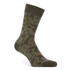 Geometrik Crew Socks