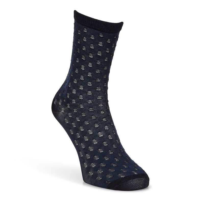 Dotted Socks (أزرق)