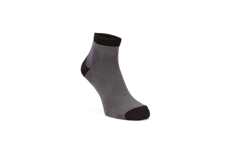 Exosock Quarter (Grey)