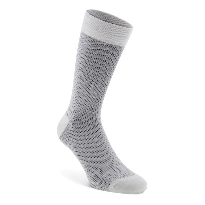 Birdseye Socks Men's (White)