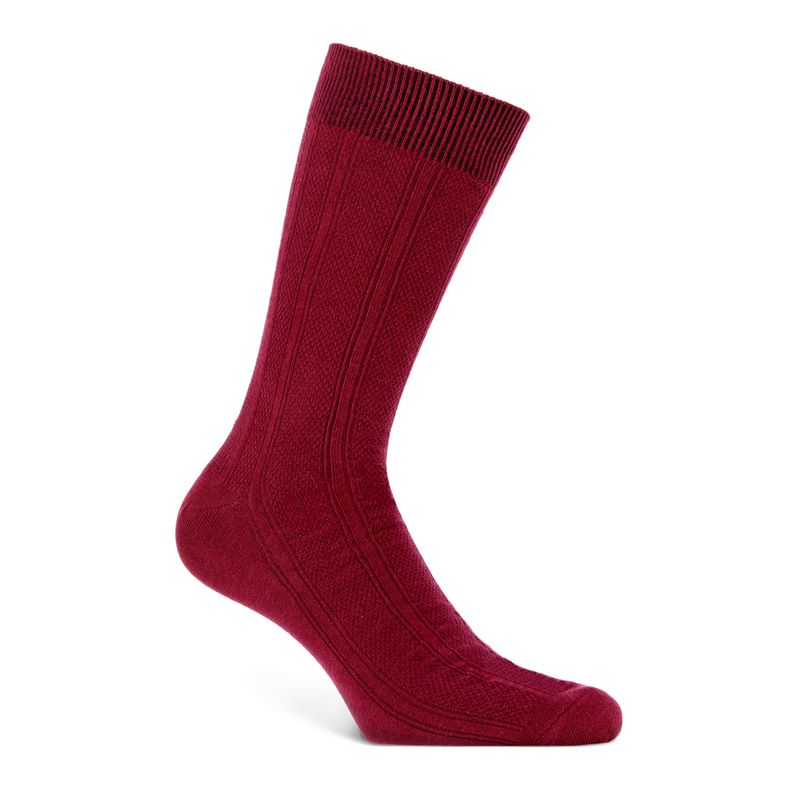 Harlequin Socks Men's (أحمر)