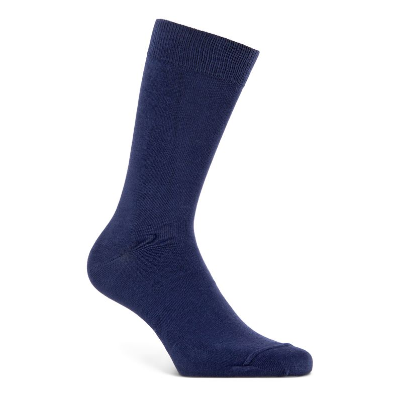 Business Crew Socks (Blue)