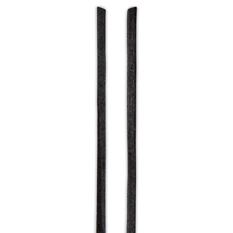 ECCO Leather Lace round (Black)