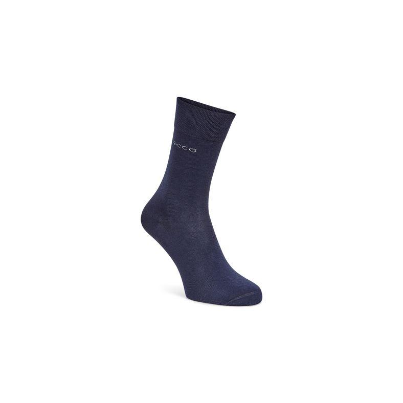ECCO Soft Touch Crew Sock (Azul)