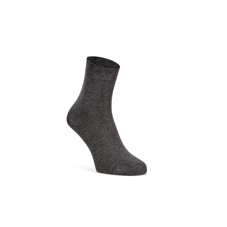 Soft Touch Quarter Sock (Gris)