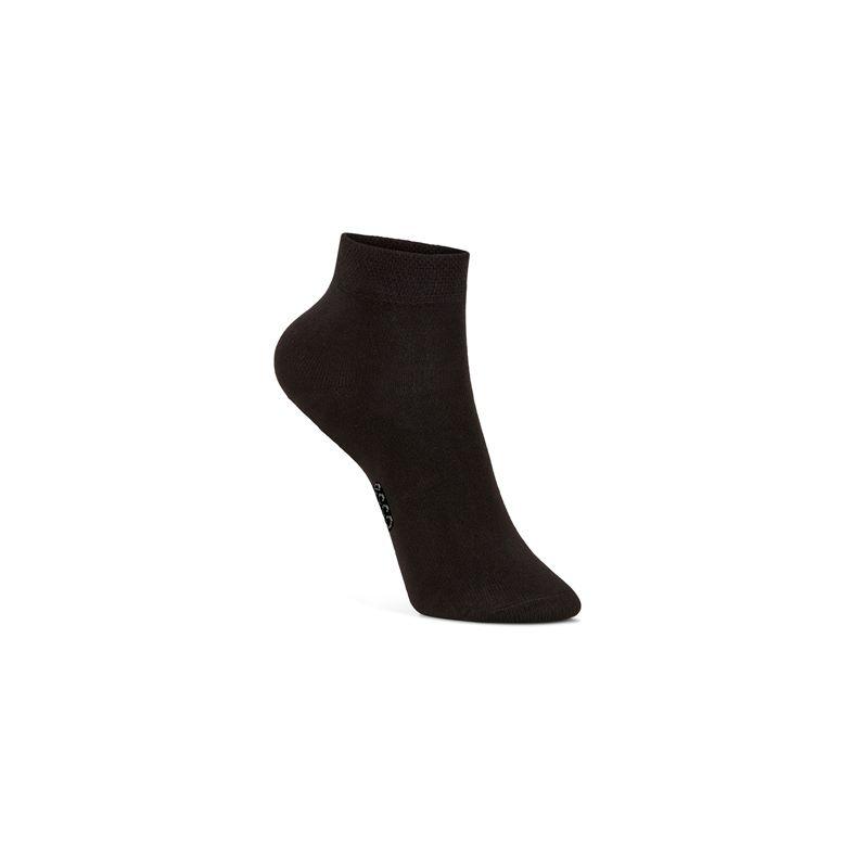 Soft Touch Kids Sock (Negro)