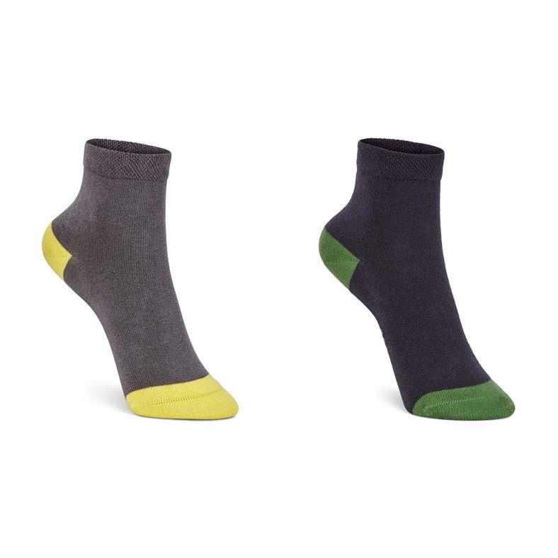 Soft Touch Kids Sock (2 P (Azul)