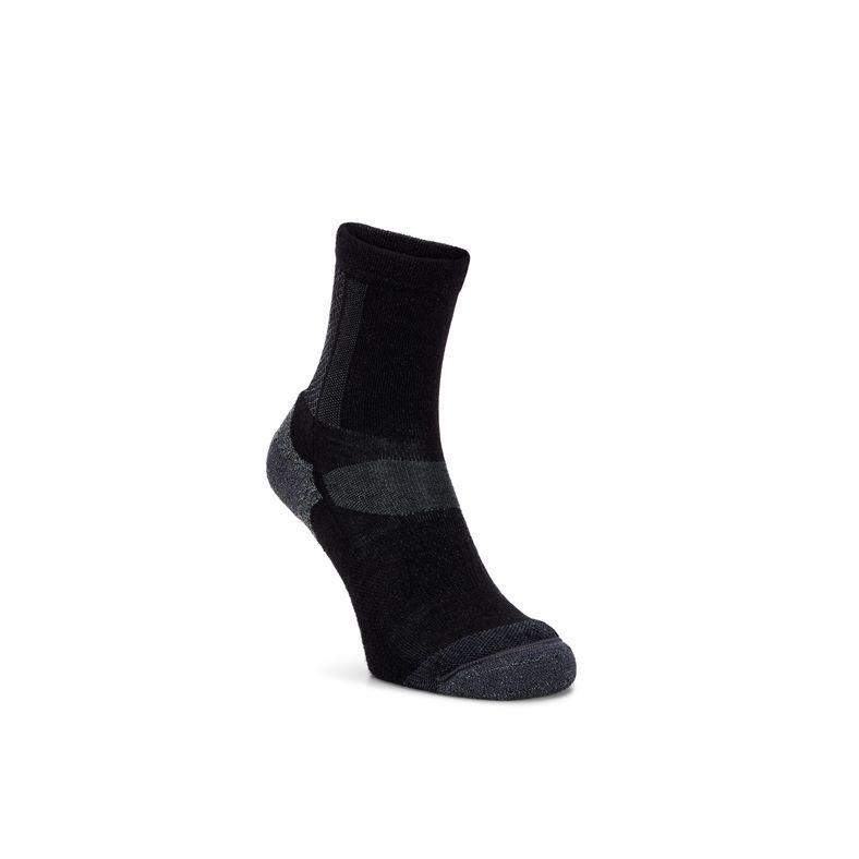 ECCO Outdoor Crew Sock (Negro)