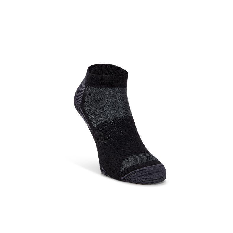 ECCO Everyday Quarter Sock (Black)