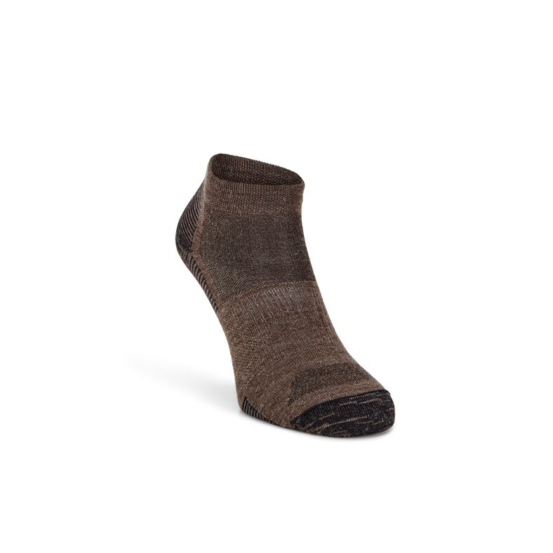 ECCO Everyday Quarter Sock (Marrón)