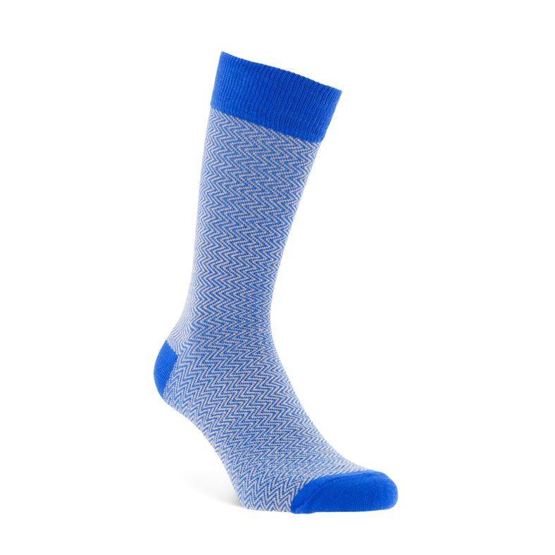 Herringbone Socks Men's (Azul)
