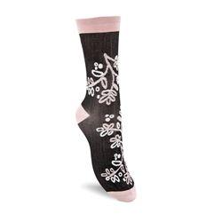 Floral-Pattern Socks W