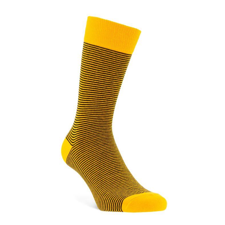 Fine Stripes Socks M (Orange)