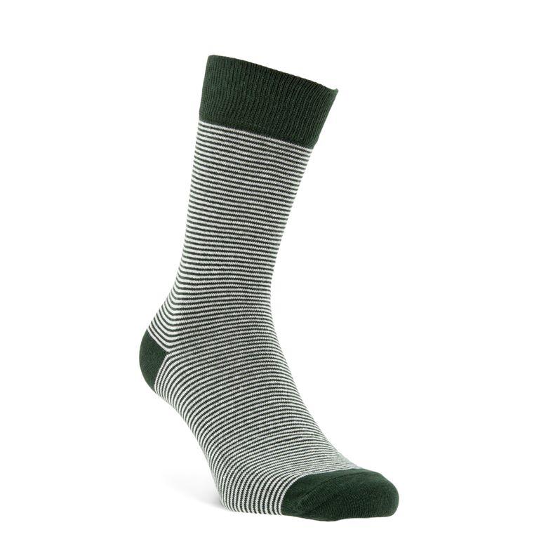 Fine Stripes Socks M (Green)