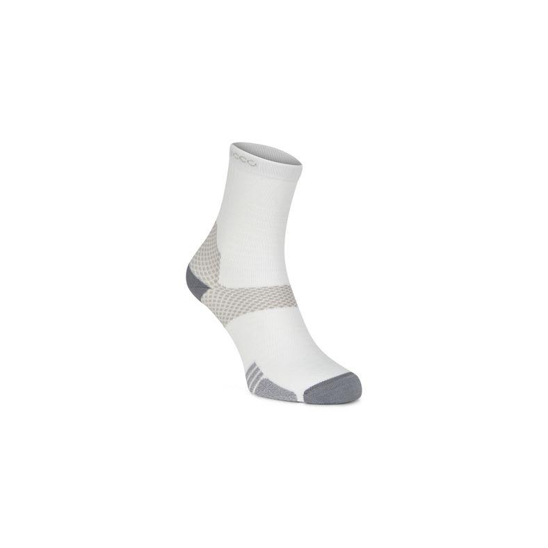 ECCO Tour Lite crew sock (White)